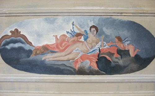 Paris Nude with Cherubs.