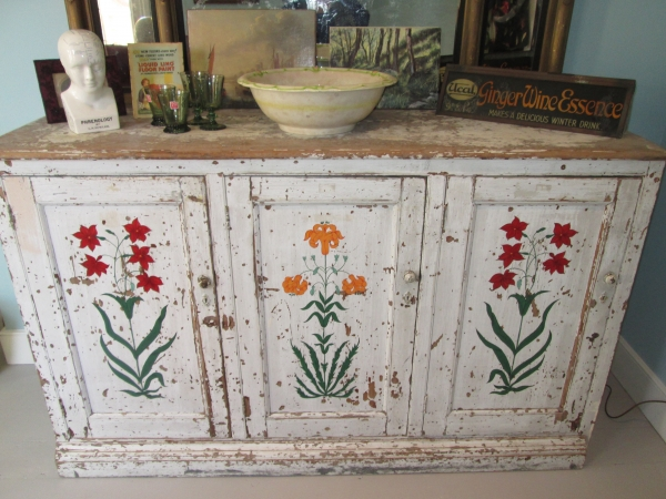 Mughal Flower Triptych Sideboard
