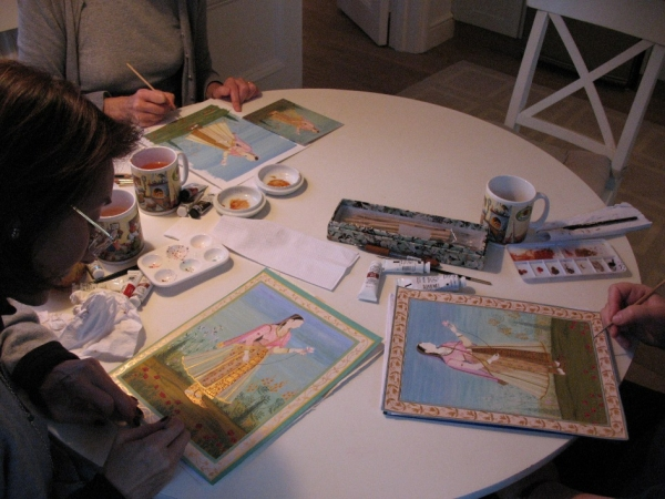 Indian Miniature Painting Workshops.