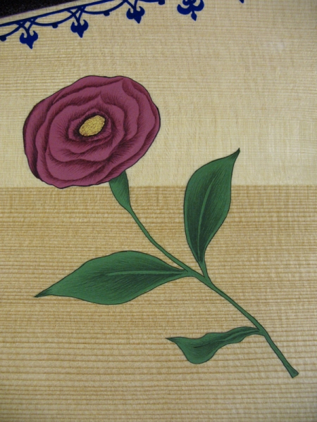 Traditional Wild Flower Stylised in Egg Tempera.
